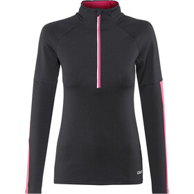 Craft Prep Half Zip Midlayer Dame black/fantasy